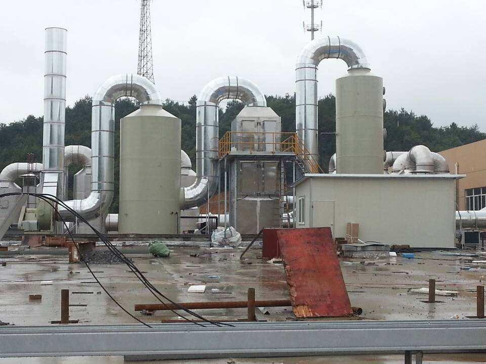 橡胶硫化废气处理